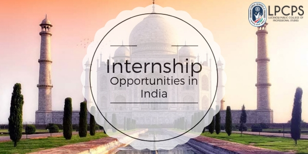 internship opportunities in india